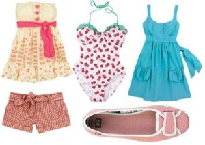 Pexeso - letné oblečenie